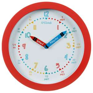 Learn the time clock £3.99 @ B&M