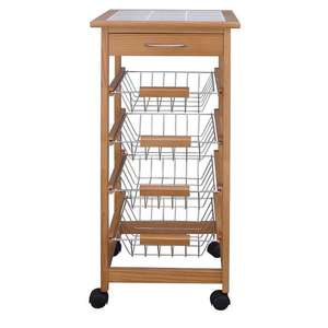 Kitchen Trolley with Ceramic Top £19.99 with code @ Robert Dyas