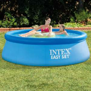 Intex Easyset Swimming Pool (Round) 8ft / 2.2m now £24.74 others sizes available from £19.99 @ Eurocarparts