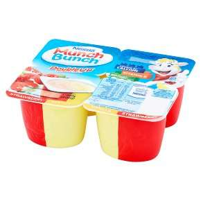 Munch Bunch 4X 85G Double Up Strawberry & Vanilla Fromage Frais £1 ( 2 other flavours ) @ Asda