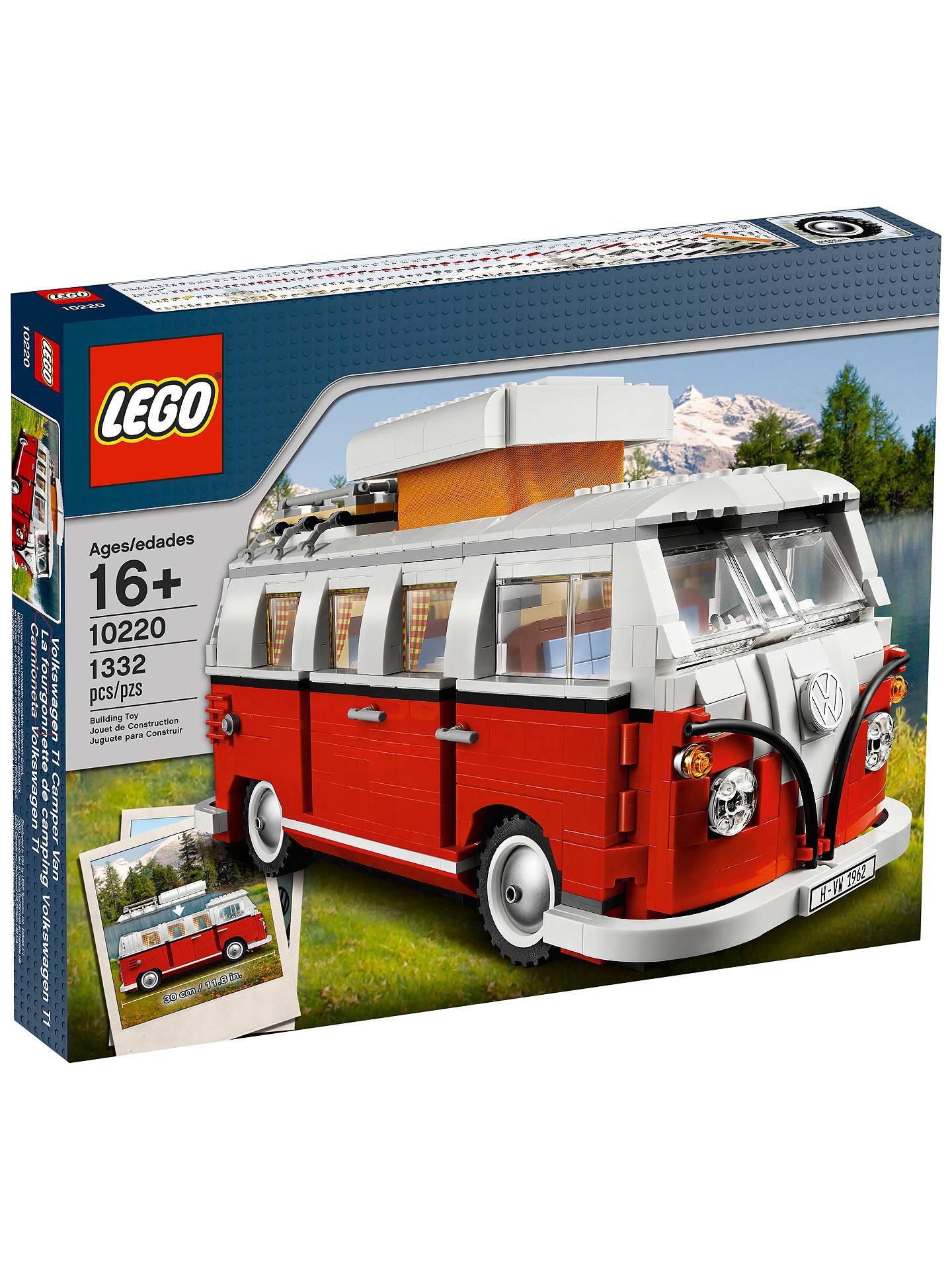 LEGO Creator 10220 VW Camper Van £72.24 @ John Lewis