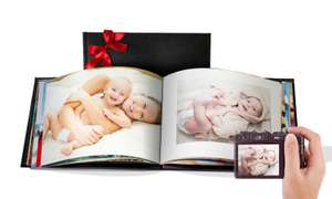 A5 20 Pages Leather Photo Book £1 @ PrinterPix (£5.99 P&P)