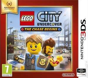 *1 left* Used Nintendo Selects Lego City Undercover The Chase Begins 3DS £8.89 (possibly £8 with code) @ Music Magpie - free delivery