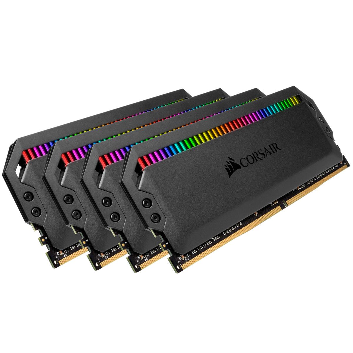 Corsair Dominator Platinum RGB 64 GB 4x16GB DDR4 3466MHz £314.94 @ Corsair shop