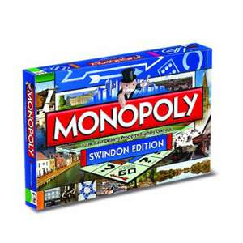 Swindon Monopoly Board Game by Winning Moves @ Amazon £7.83 Prime £12.32 Non Prime