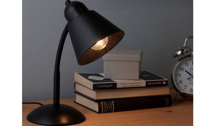 Flexi Desk Lamp - Black £4.49 free C&C @ Argos