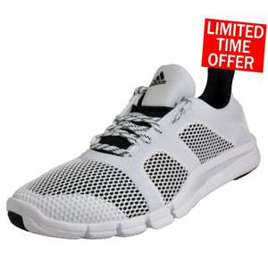 229bb6787a56 Adidas Adipure Flex Womens Jogging Fitness Gym Trainers White £19.99  Delivered   Express Trainers Ebay