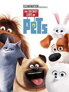 Secret life of Pets UHD £3.99 / Sing UHD £4.99 / Incredibles 2 HD £4.99 / Christopher Robin HD £4.99 + others in description at Amazon