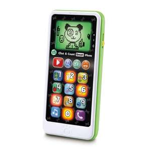LeapFrog Chat & Count Baby/Toddler Smart Phone Toy £5 / £4.50 Student Discount - C+C £1.50 or free if spending over £10 at Boots