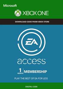 EA Access now £1.49 for 1 month XBox One download code at CDKeys (50p less than previous best)