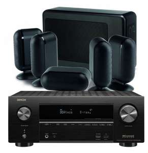 Denon AVR-X2500H with Q Acoustics 7000i Slim speaker bundle, plus free Atmos upgrade at Peter Tyson for £999.95