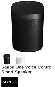 Sonos One Voice controlled smart speaker with Alexa Gen1 at Oldrids for £135.20