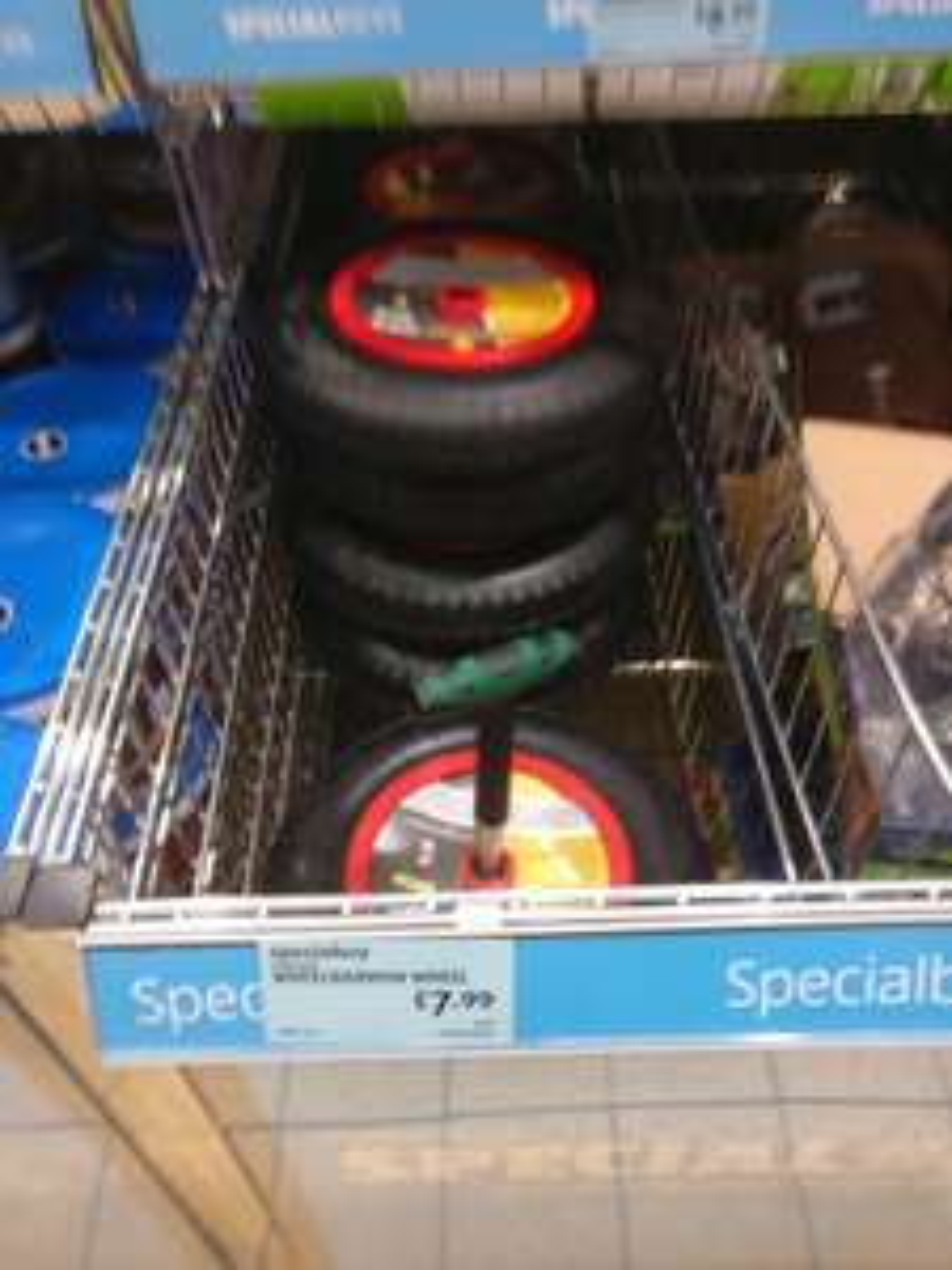 Wheelbarrow Wheels @ ALDI instore for £7.99
