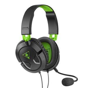 Refurbished Turtle Beach Recon 50X Gaming Headset in Black at Telephones Online for £13.50 delivered