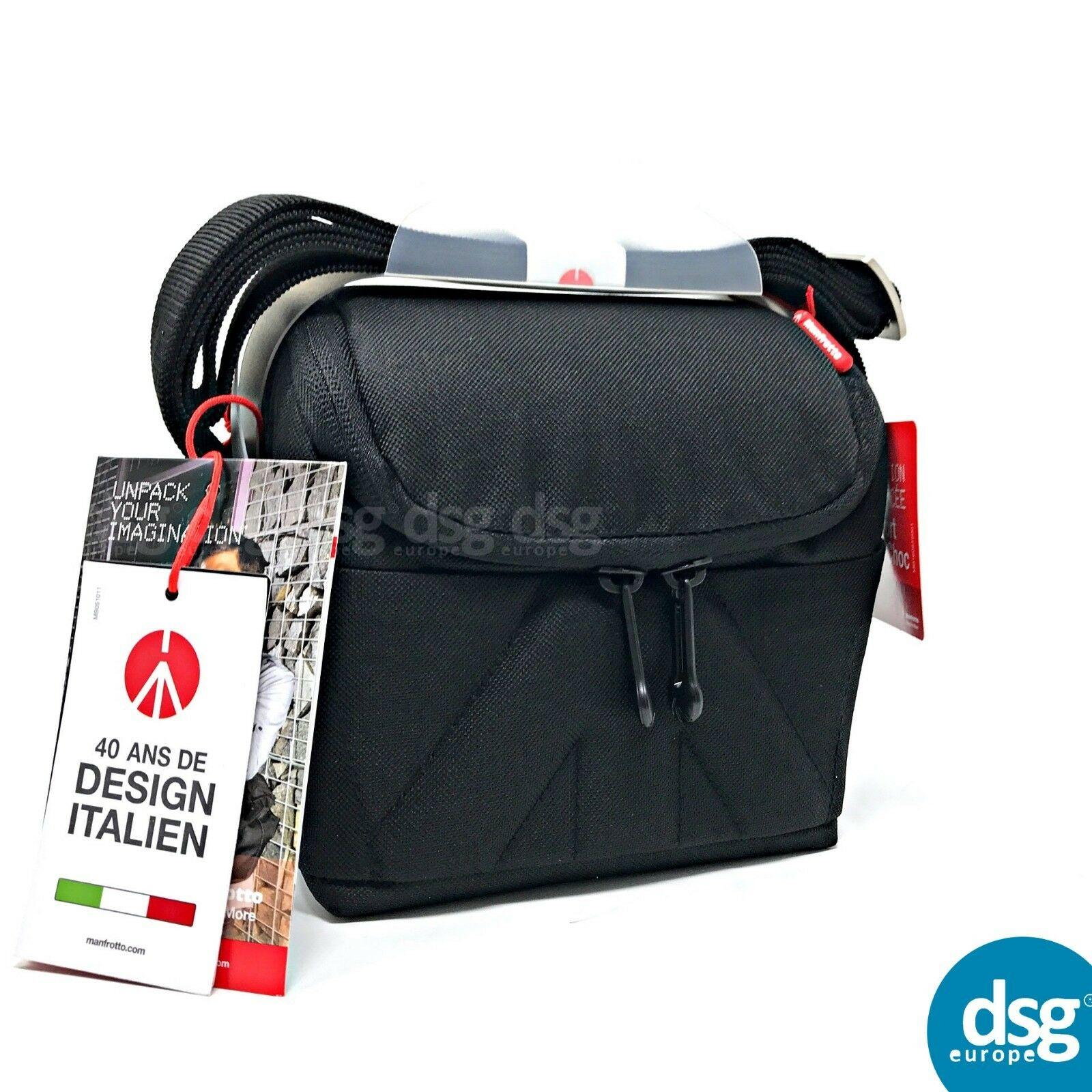 Manfrotto Amica 10 Shoulder Bag Camera Bag - Black For DSLR / MICRO / LENSES £7.99 at dsg_outlet/ebay