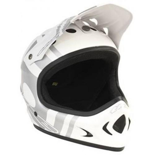 Full Face Helmet + Lights Set + Free Delivery £25.48 @ jejamescycles