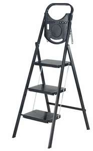 Abru 3 Tread Slim Step Stool with Tray for £19.54 (See OP for other) Free C&C @ Robert Dyas