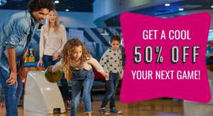 50% off Hollywood bowl bowling over the bank holiday weekend