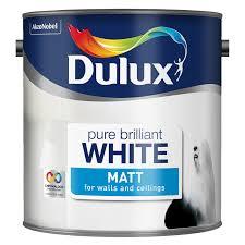 B&Q colours Paint £3 2.5ltr, Dulux 2.5ltr  - £5