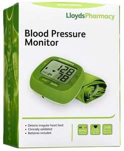 Blood Pressure Monitor and Cuff (this little device can save someone's life) - £13.49 w/code + Free C&C @ Lloyds Pharmacy