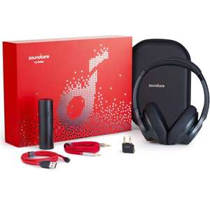 Soundcore Gift Set - Headphones, Anker PowerCore 5000, PowerLine+ Cable, AUX Cable, Adaptor, Travel Case £49.99 Sold Anker Direct FB Amazon