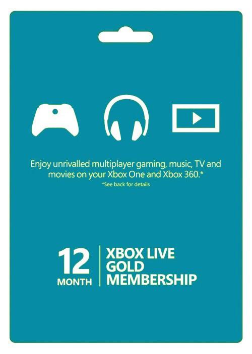 Xbox Live 12 Months Gold Membership Card Global £35.08 (poss £28.14 via TCB) at SCDKey