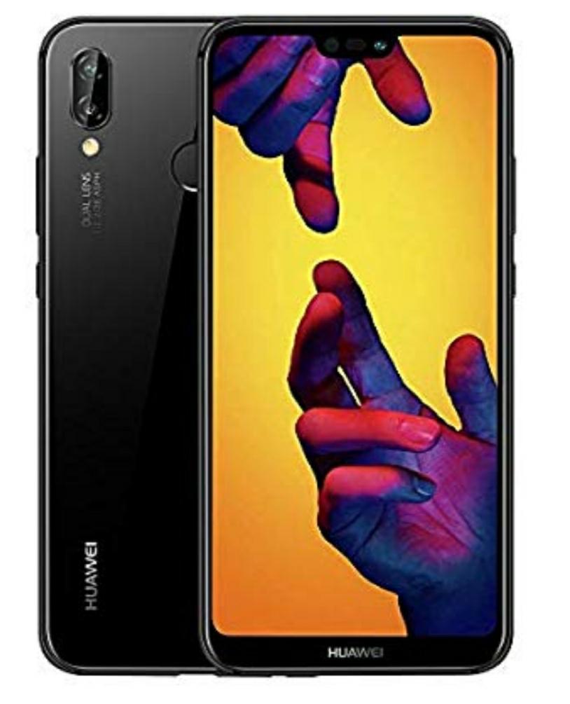 Reduced - Huawei P20 Lite 64 GB Dual SIM Black Smartphone £190.54 @ Amazon