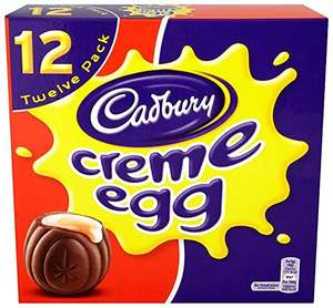 12x Creme Eggs £2 / 5x Creme Eggs £1 /  All Medium Easter Eggs £0.62 / All Large Easter Eggs £1.50 @ Sainsbury's