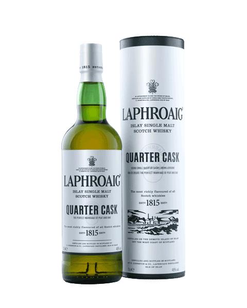 Laphroaig Quarter Cask Single Malt Islay Whisky 70cl @ Amazon £28