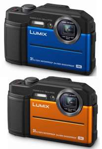 Panasonic Lumix DC-FT7 4K Waterproof Tough Action Camera in Orange or Blue (2 years warranty) for £169.99 Delivered @ Costco