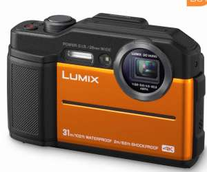 **Reduced** Panasonic Lumix DC-FT7 4K Waterproof Tough Action Camera in Orange (2 years warranty) for £149.99 Delivered @ Costco