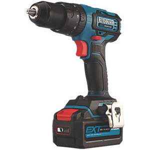 Erbauer ECD18-Li-2 18V 4.0Ah Li-Ion EXT Brushless Cordless Combi Drill plus free extra 4ah battery £99.99 @ screwfix