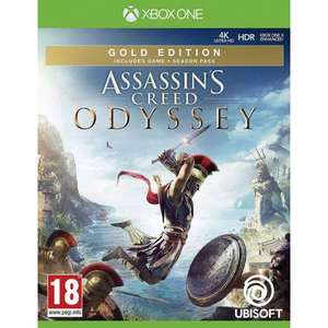 Assassin's Creed Odyssey - GOLD edition Xbox One £35.95 del @ The Game Collection
