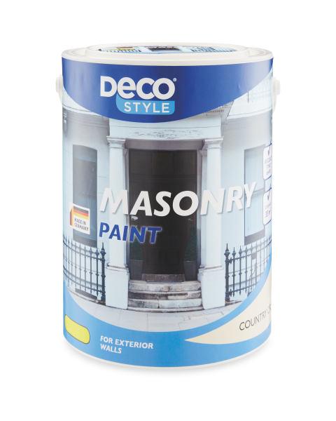 Aldi Masonry Paint 5L cream and white - £6.99