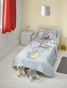 Disney Dumbo Easy Care Reversible Duvet Set - Toddler £10 free c&c @ Asda