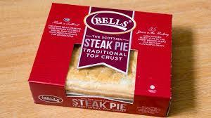 BELLS Steak Pie, 4 Portion £2.50 in Tesco Maryhill, Glasgow