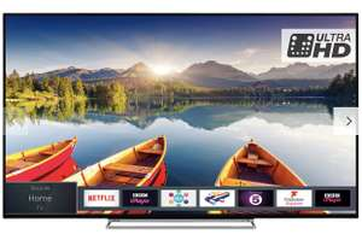"Toshiba 65U6863DB LED HDR 4K Ultra HD Smart TV, 65"" £549 @ John Lewis & Partners"