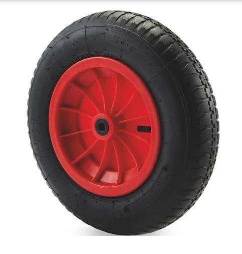 B&Q Wheel barrow pneumatic wheel - £3