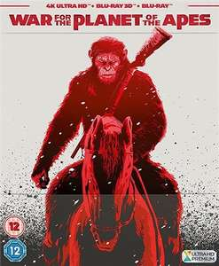 War For The Planet of the Apes Used 4K UHD Blu-Ray/Blu-Ray/Digital Steelbook £13.50 delivered @ WeBuy