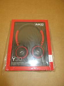 AKG Y30U Lightweight On-Ear Headphones with In-Line Mic and Remote IOS/Android £10.95 Delivered @ simplyparts2010 Ebay