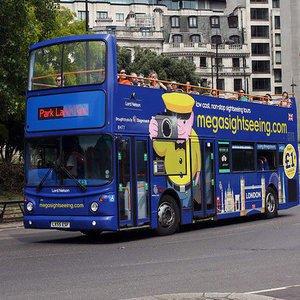 London Bus Tour from £2pp @ Megabus - inc May Bank Holiday, May Half Term & Summer Holidays