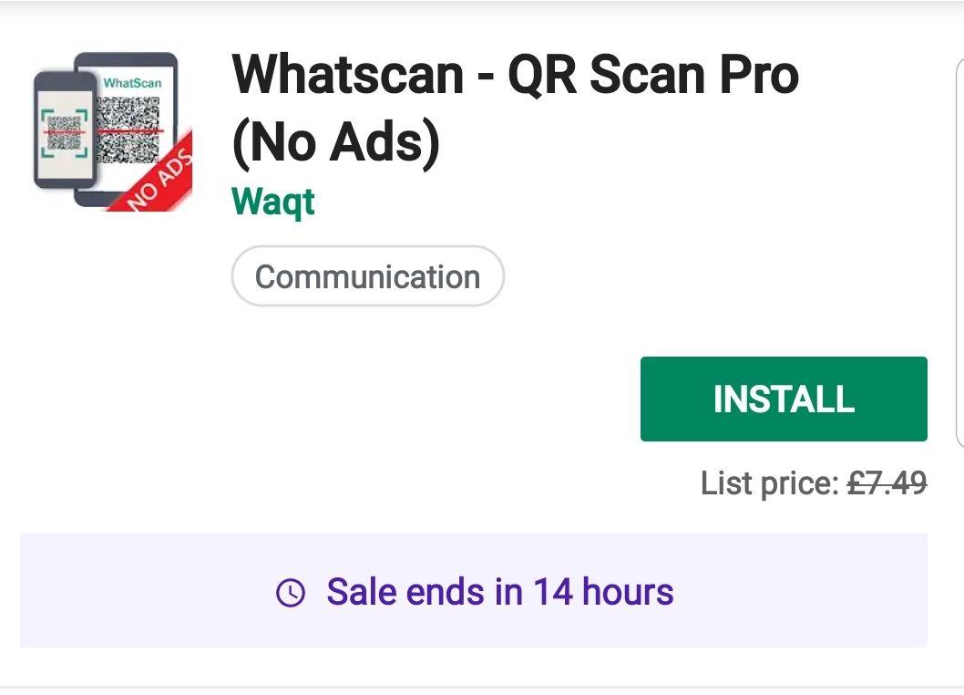 Whatscan - QR Scan Pro (No Ads)