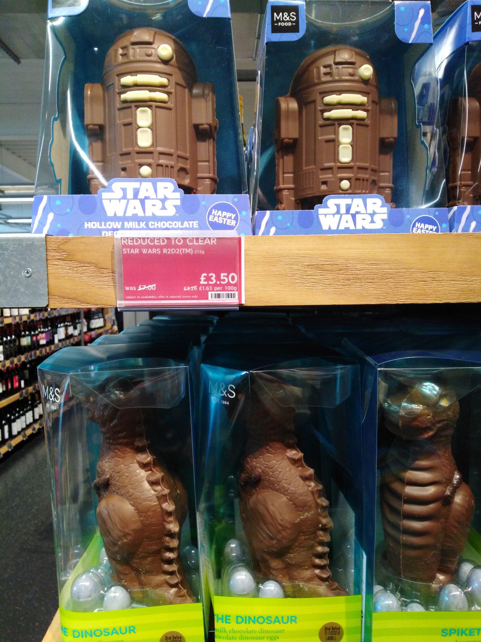 Marks & Spencer Easter Half Price - Star Wars Egg £3.50