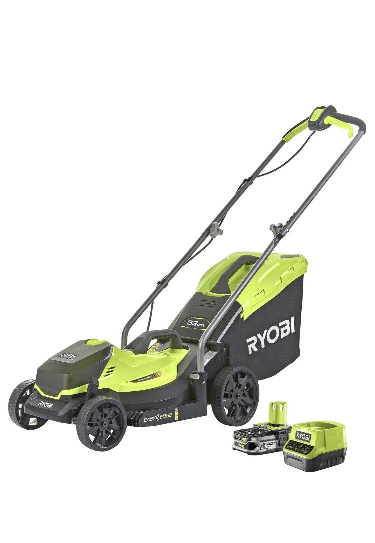 Ryobi Cordless Lawnmower With 2.5aH Battery £144 @ Argos