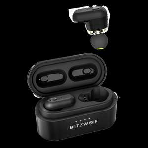 [Pre-orders] Blitzwolf BW-FYE7 TWS Bluetooth 5.0 True Wireless Earbuds with Charging Box £25.05 @ Banggood