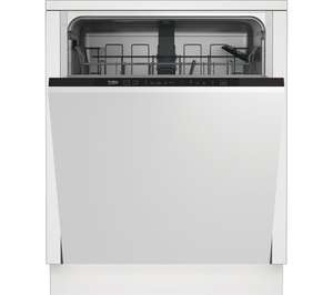 BEKO DIN15X11 Full-size Fully Integrated Dishwasher £199 @ Currys