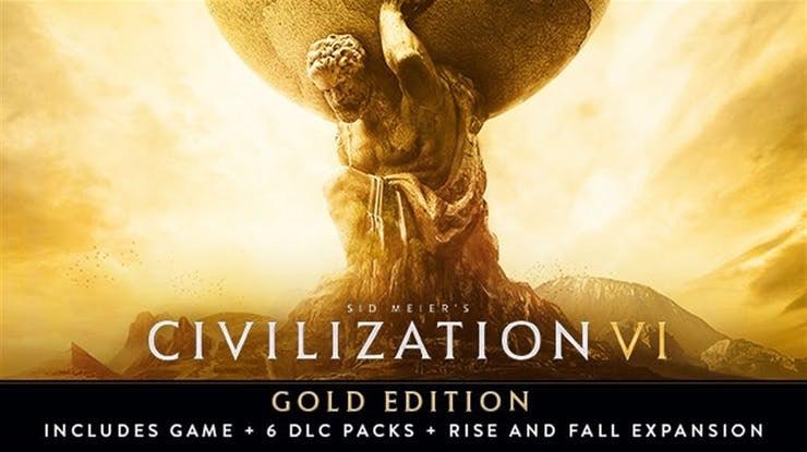 Sid Meier's Civilization VI Gold Edition £22.99 @ Fanatical