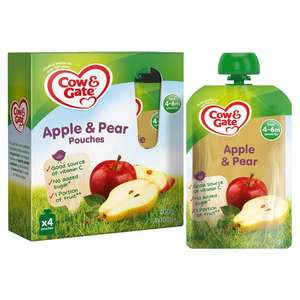 Cow & Gate 4-Pack Pouches - 65p instore @ Asda (Hounslow)