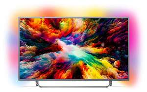Philips 65PUS7303/12 65-Inch 4K Ultra HD Android Smart TV with HDR Plus and Ambilight 3-sided - Dark Silver (2018 Model) £809 @ Amazon