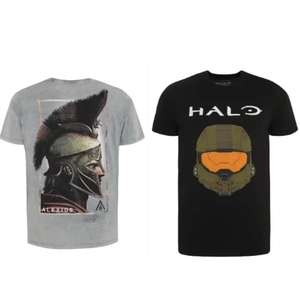 Half Price Assassin's Creed Odyssey, Halo, Call of Duty T-Shirts - £5 @ George (Free C&C)